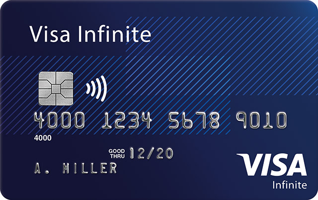 Visa Infinite Card
