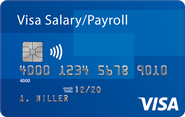Card Visa Salary/Payroll